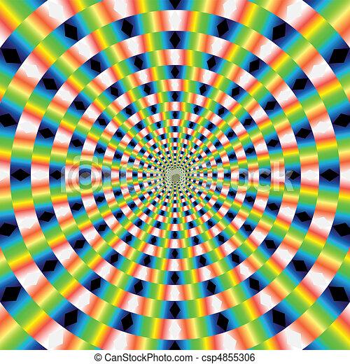 vector optical art - csp4855306