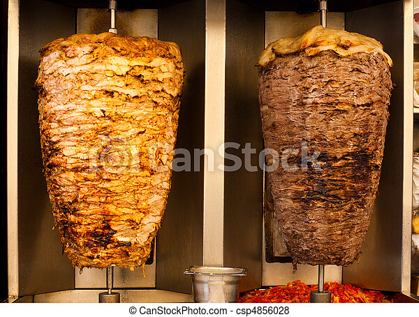 Chicken Lamb Shawerma Fast Food Meat - csp4856028