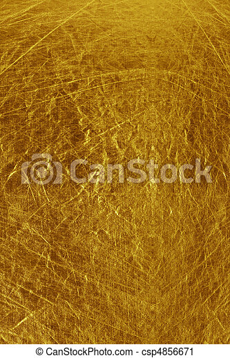 metallic textured gold background - csp4856671