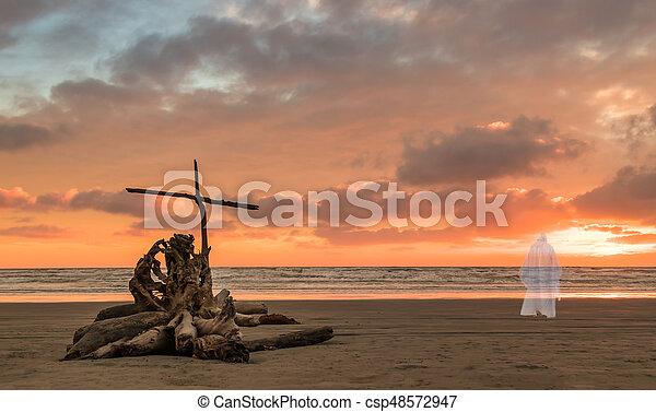 Salvation Beach - csp48572947