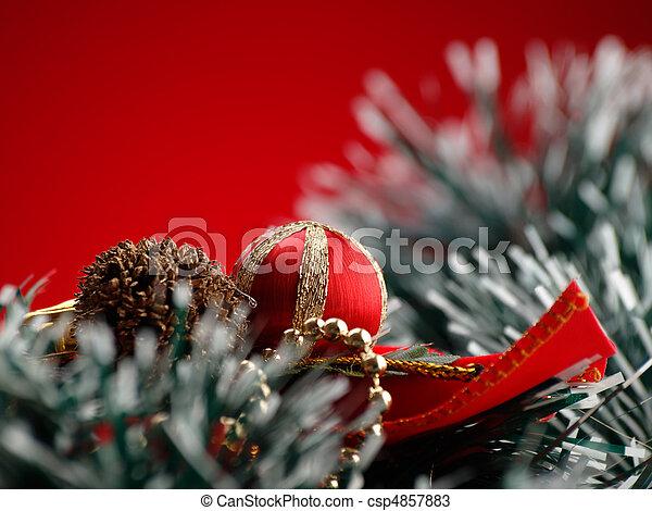 Christmas decor - csp4857883