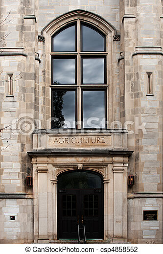 Agriculture Building - csp4858552