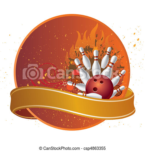 bowling sport - csp4863355