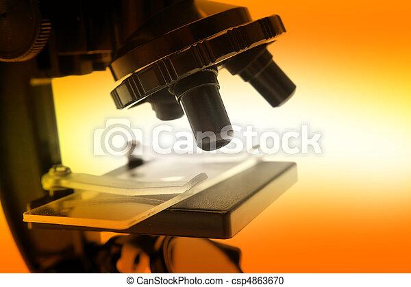 Microscope - csp4863670