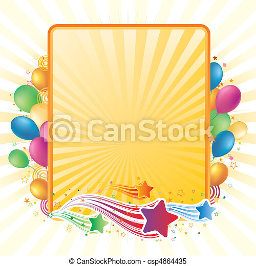 celebration background - csp4864435