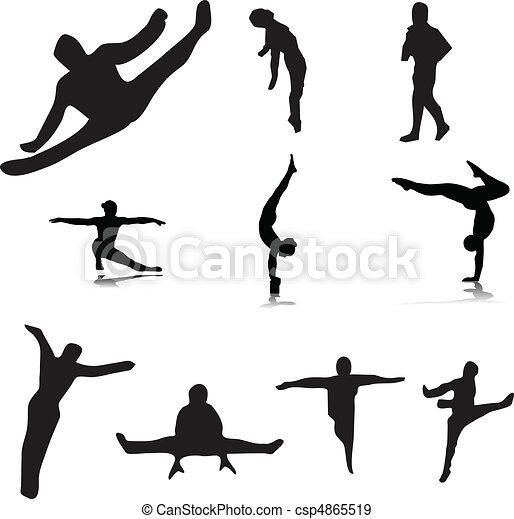 gymnastic 1 - csp4865519