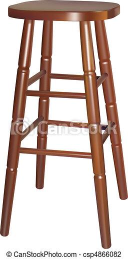 bar chair - csp4866082
