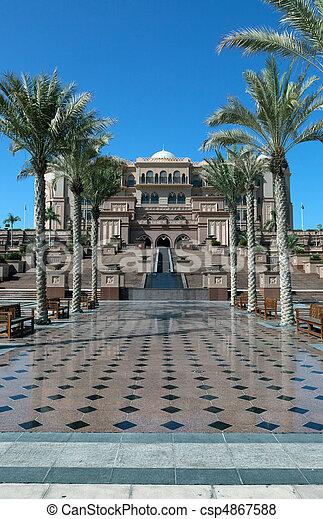 Immagini di maestoso arabo palazzo vicolo con panche for Piani di palazzo con piscina coperta
