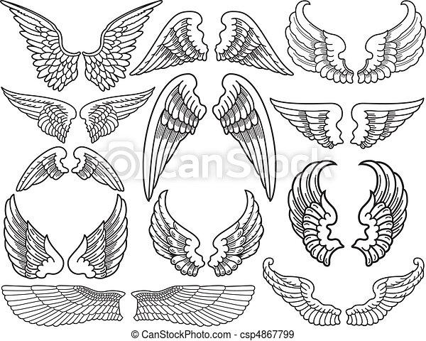 Angel Wings - csp4867799
