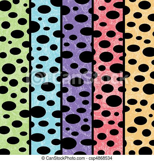Multicolored Bubble Background - csp4868534