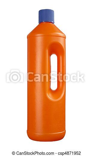 plastic bottle cleaning - csp4871952