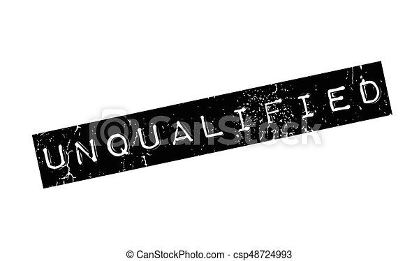 Unqualified rubber stamp - csp48724993