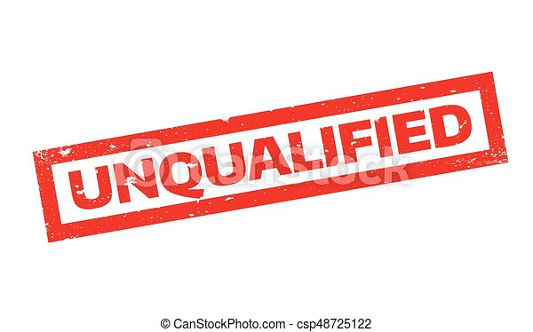 Unqualified rubber stamp - csp48725122