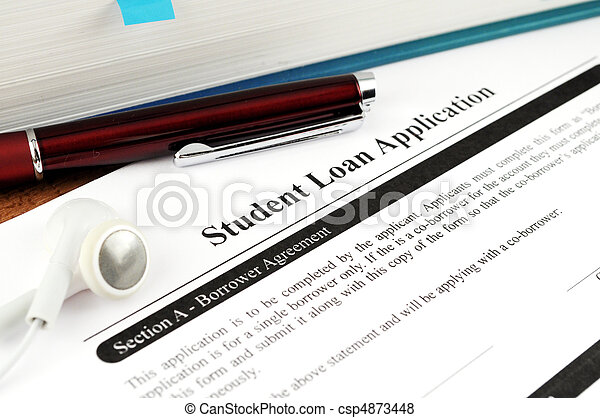 Student Loan Application - csp4873448