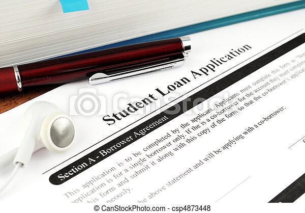Student Loan Application - csp4873448