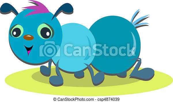 Cute Ant Logo Cute Blue Ant Csp4874039