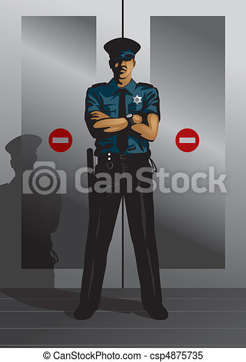 Security Guard - csp4875735