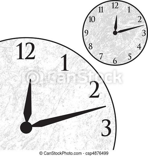 Clock Face - csp4876499