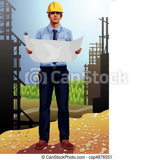 Architect - csp4876551