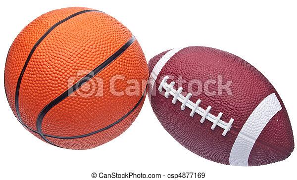 Youth Sized Football - csp4877169