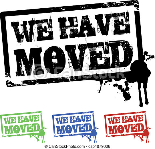 we have moved  - csp4879006