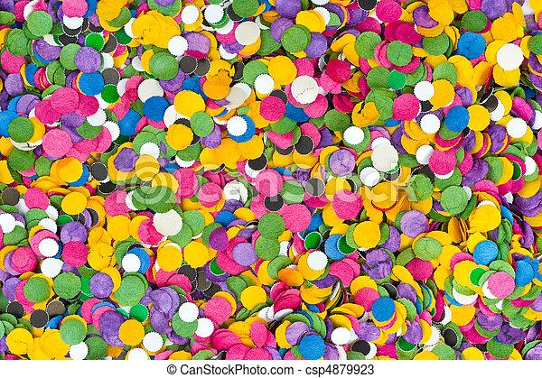 Confetti background - csp4879923