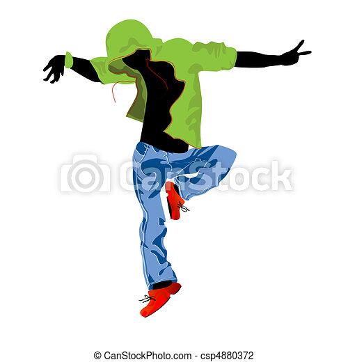 Groove dancer - csp4880372