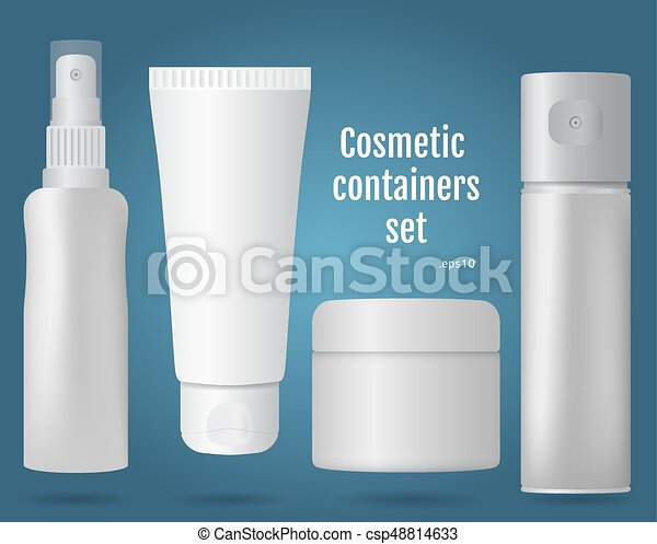 Cosmetic containers set - csp48814633