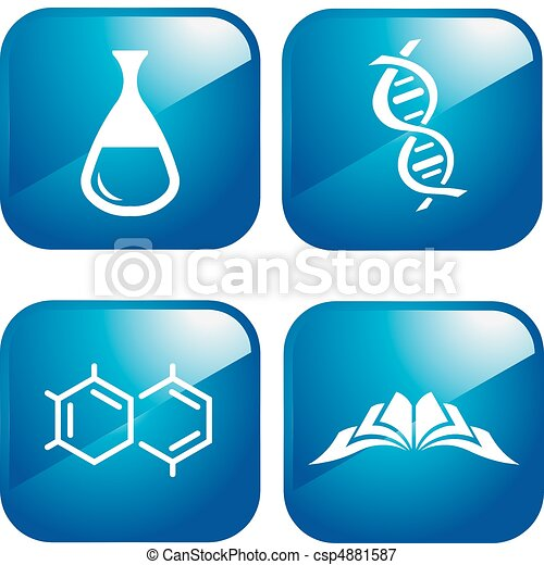 chemical icons - csp4881587