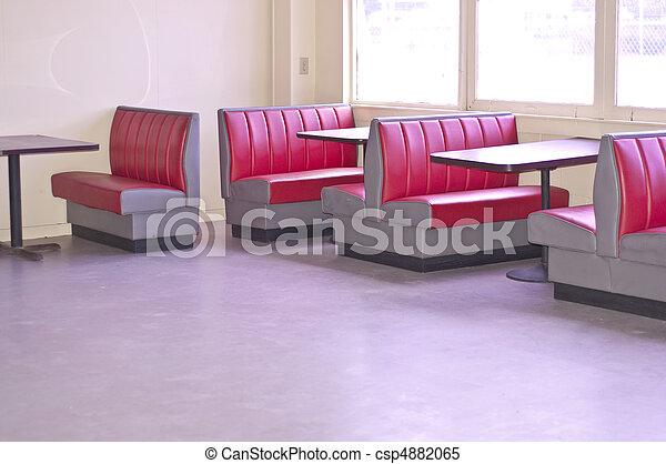 Retro Diner - csp4882065