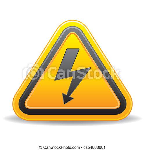 vector voltage sign - csp4883801
