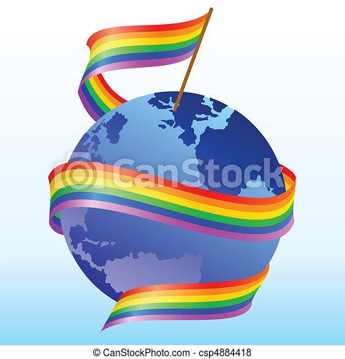 flag rainbow - csp4884418