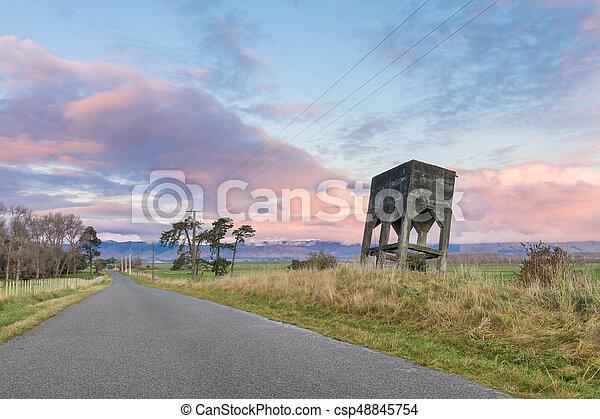 Ridge Road Tower - csp48845754