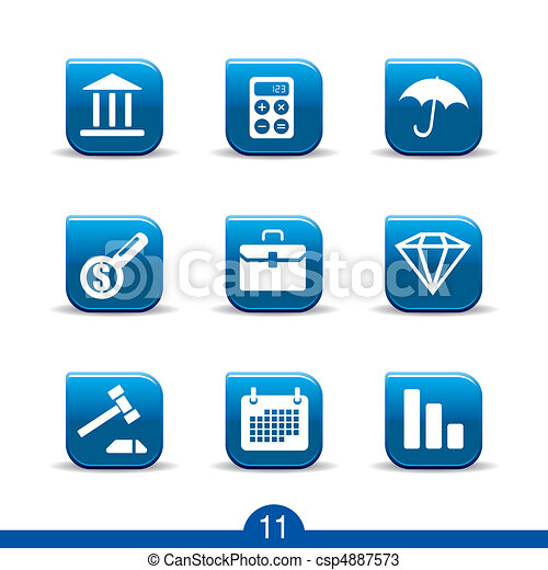 finance icons no.11..smooth series - csp4887573