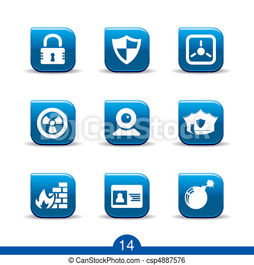 security icons no.14..smooth series - csp4887576