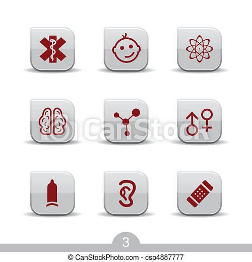 Medical icons no.3..smooth series - csp4887777
