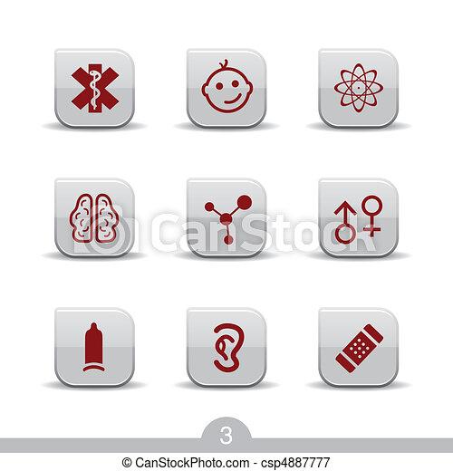 Medical icons no.3..smooth series - csp4887777