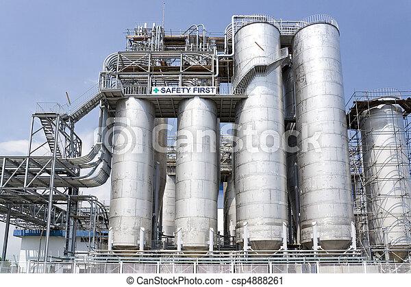 pesado, equipamento,  Industrial - csp4888261