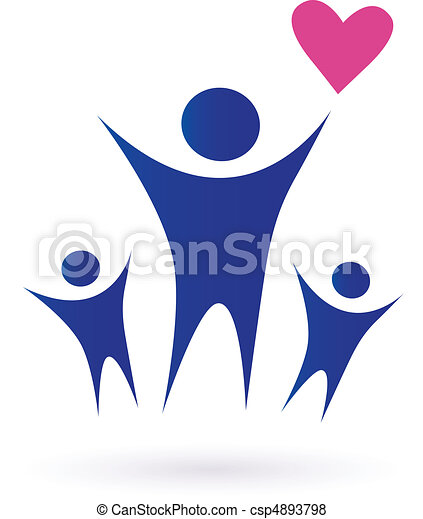 Family, Health And Community Icons - csp4893798