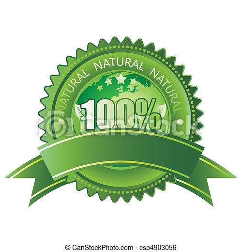 100% natural - csp4903056