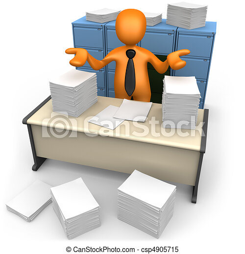 Paperwork - csp4905715