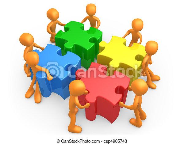 Team Effort - csp4905743