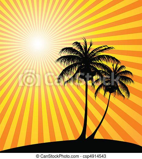 Sunset Clip Art Graphics