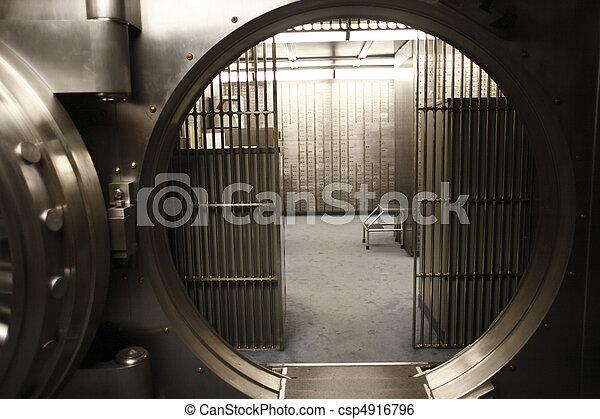Vault door - csp4916796