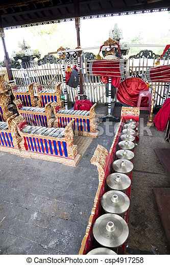 Indonesian Traditional Musical Instruments, Bali, Indonesia - csp4917258