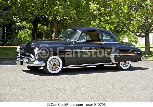 1950 Black Coupe - csp4919795