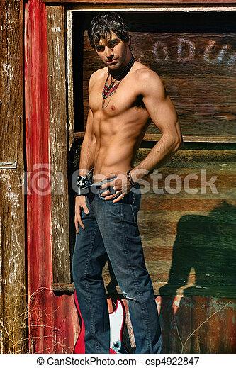 Sexy man - csp4922847