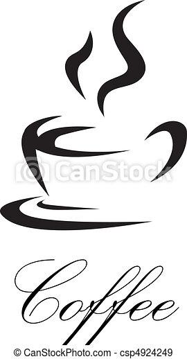 coffee symbol - csp4924249