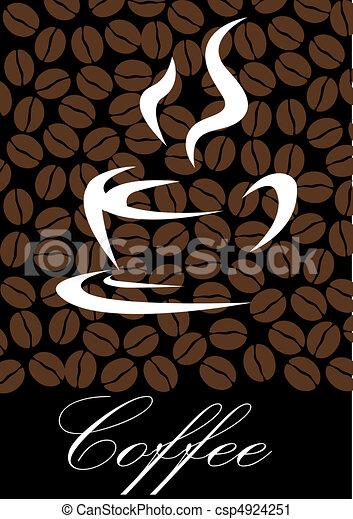 coffee symbol - csp4924251