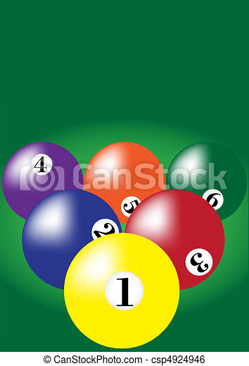 Billiard Background - csp4924946